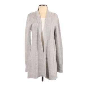 Doe and Rae small gray cardigan soft